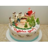 Торт на новый год - НГ