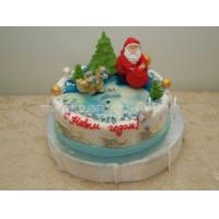 Торт новогодний - Сюрприз