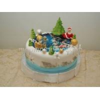 Торт новогодний - Друзья