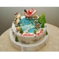 Торт на новый год - Семейный