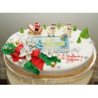 Торт новогодний - Удача