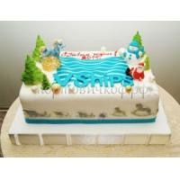 Торт новогодний - Радость