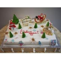 Торт на корпоратив - Снежный