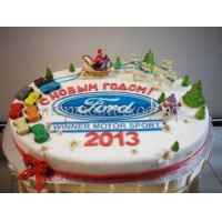Торт новогодний - Логотип