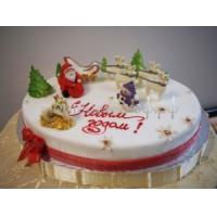 Торт новогодний - Сладкий