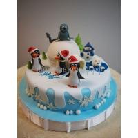 Торт новогодний - 1 января