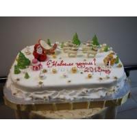 Торт новогодний - Карусель