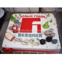 Торт новогодний - Красотка