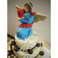 Торт рождественский - Ангел