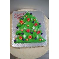 Торт новогодний - Елочка