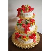 Торт новогодний - Сладкоежка