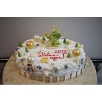 Торт новогодний - Пляски