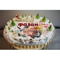 Торт корпоративный - Фазан