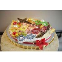 Торт новогодний - Ягодный