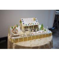 Торт новогодний - Городок