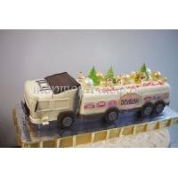 Торт новогодний Вагон