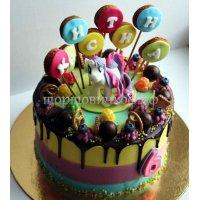Детский торт #201