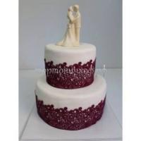 Торт свадебный на заказ - Поцелуй