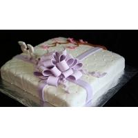 "Торт на заказ для девушки - ""Розовый куст"""