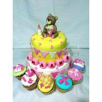 Детский торт #386