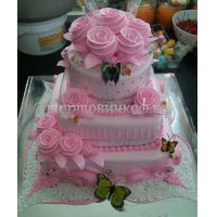 Свадебный торт #57