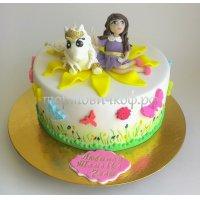 Детский торт #236