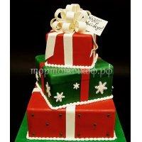 Торт на новый год #60