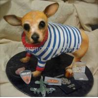 Торт на заказ - Собака