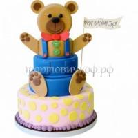 Детский торт на заказ - Медведь