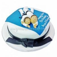 Детский торт на заказ - Самбо