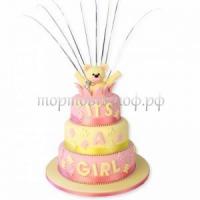 Сденм рождения - детский торт