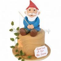 Детский торт на заказ - Гном