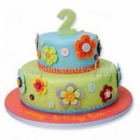 Заказать детский торт - 2 годика