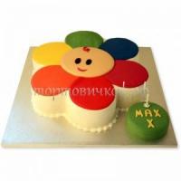 Заказать тортик ребенку - Цветик - семицветик