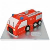 Заказать детский торт - Пожарная Машина