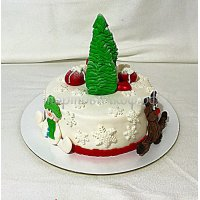 Торт на новый год #63