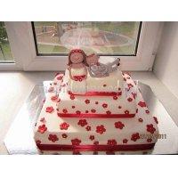 Свадебный торт #61