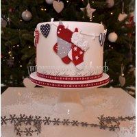 Торт на новый год #64