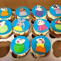 Капкейки и мини пирожные #40