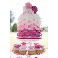 Торт свадебный на заказ - № 109