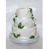Торт свадебный на заказ - № 111