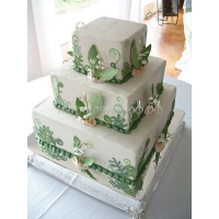 Торт свадебный на заказ - № 024