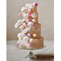 Торт свадебный на заказ - № 113