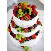 Торт свадебный на заказ - № 027