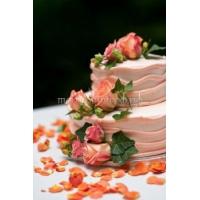 Торт свадебный на заказ - № 119