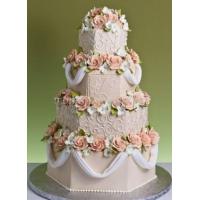 Торт свадебный на заказ - № 126