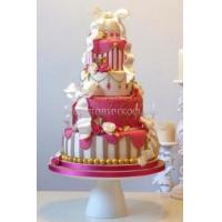 Торт свадебный на заказ - № 132