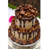 Торт свадебный на заказ - № 136