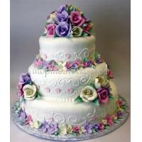 Торт свадебный на заказ - № 146