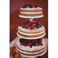 Торт свадебный на заказ - № 032